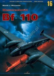 Kagero 3016 Messerschmitt Bf 110 vol. I EN/PL