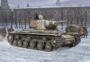 Hobby Boss 84814 Russian KV-1 Model 1942 (1:48)