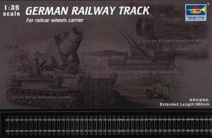 Trumpeter 00213 German Railway Track Set (1:35)