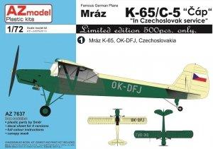 AZ Model AZ7637 Mraz K-65/C-5 Cáp In Czechoslovak Service 1/72