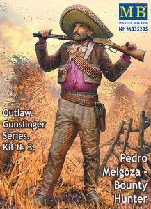 Master Box 35205 Outlaw. Gunslinger #3: Pedro Melgoza Bounty Hunter 1/35