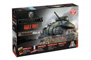 Italeri 36503 World of Tanks-M4 Sherman
