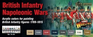 Vallejo 70163 British Infantry Napoleonic Wars 8 x 17ml
