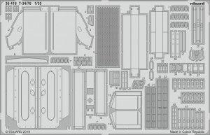 Eduard 36418 T-34/76 ZVEZDA 1/35