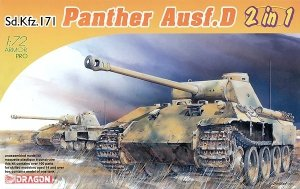 Dragon 7547 Sd.Kfz.171 Panther Ausf. D Early/Late 2 in 1 1/72