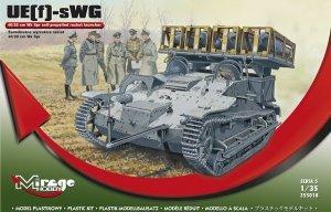 Mirage Hobby 355018 UE-sWG 40/28 cm Wk Spr Samobieżna wyrzutnia 1:35