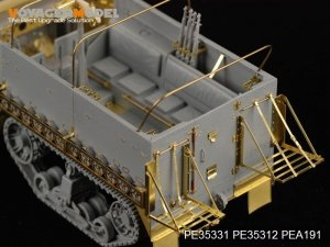 Voyager Model PEA191 WWII US M3/M3A1/M3A2/M21 Half Track Stowager Holder (For All) 1/35