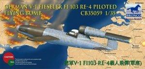 Bronco 1:35 V-1 Fi103 Re 4 Piloted Flying Bomb (CB35059)