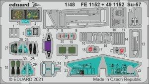 Eduard FE1152 Su-57 for ZVEZDA 1/48