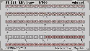 Eduard 17521 Life buoy 1/700