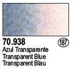 Vallejo 70938 Transparent Blue (187)