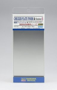 Hasegawa TF937 Checker Plate Finish A (Stainless) S