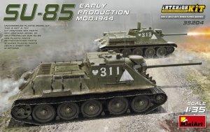 MiniArt 35204 SU-85 SOVIET SELF-PROPELLED GUN MOD.1944 EARLY PRODUCTION. INTERIOR KIT (1:35)