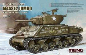 Meng Model TS-045 M4A3E2 Jumbo 1/35