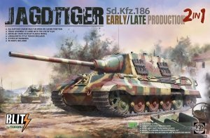 Takom 8001 Sd.Kfz.186 Jagdtiger Early/Late Production (2 in 1) 1/35