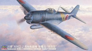 Hasegawa JT73 Kawanishi N1K2-J Shidenkai George 1/48