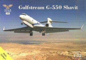 Sova 72018 Gulfstream G-550 Shavit 1/72