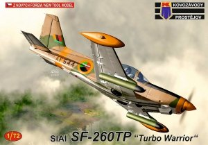 Kovozavody Prostejov KPM0213 SIAI SF-260TP Turbo Warrior 1/72