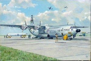 Roden 336 Douglas C-133A w / PGM-17 Thor IRBM 1/144