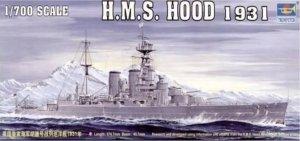 Trumpeter 05741 HMS Hood 1931 1/700
