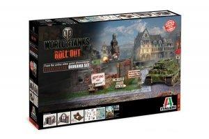 Italeri 36505 World of Tanks - Himmelsdorf Diorama Set 1/35