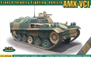 ACE 72448 AMX VCI French Infantry Fighting Vehicle 1/72