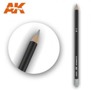 AK Interactive AK 10033 Watercolor Pencil ALUMINIUM