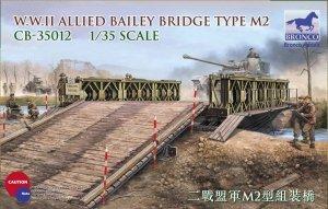 Bronco CB35012 WWII Allied Bailey Bridge Type M2 1/35
