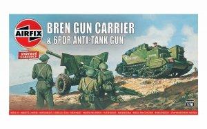 Airfix A01309V Vintage Classics - Bren Gun Carrier & 6pdr Anti Tank Gun 1:76