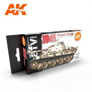 AK Interactive AK 11654 1945 PANZER COLORS 6x17 ml