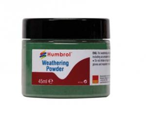 Humbrol AV0015 Weathering Powder Chrome Oxide Green 45ml