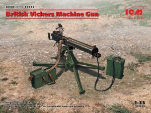 ICM 35712 British Vickers Machine Gun 1/35