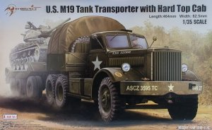 I Love Kit 63501 U.S. M19 Tank Transporter with Hard Top Cab 1/35