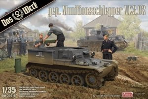 Das Werk DW35016 Gepanzerter Munitionsschlepper VK3.02 1/35
