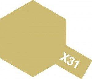 Tamiya X31 Titanium Gold (81531) Acrylic paint 10ml