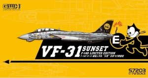 Great Wall Hobby S7203 F-14D VF-31 SUNSET 1/72