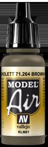 Vallejo 71264 BROWN VIOLET RLM81