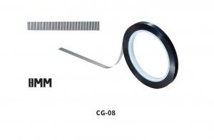 DSPIAE CG-08 8mm ADHESIVE BACKED TAPE MWHR 30M / Taśma maskująca 8mm x 30m