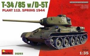 MiniArt 35293 T-34/85 w/D-5T PLANT 112. SPRING 1944 1/35