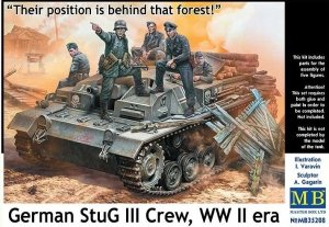 Master Box 35208 German StuG III crew 1/35
