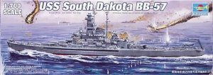 Trumpeter 05760 U.S.S. South Dakota BB-57 1/700