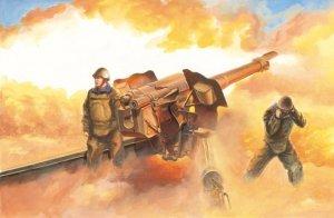Trumpeter 02334 Soviet D-74 122mm Field Gun (1:35)