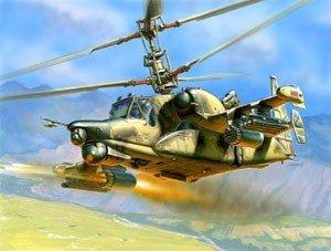 Zvezda 7272 Kamov Ka-50 SH Night Hunter (1:72)