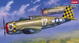 Academy 12492 P-47D Thunderbolt Razor-Back (1:72) (2175)