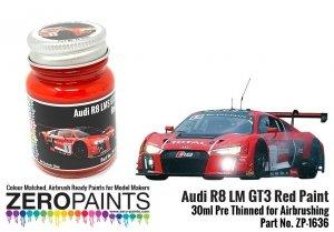 Zero Paints ZP-1636 Audi R8 LM GT3 Red Paint 30ml