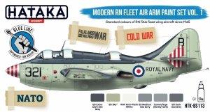 Hataka HTK-BS113 Modern RN Fleet Air Arm paint set vol. 1 (6x17ml)