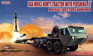 Modelcollect UA72077 USA M983 HEMTT Tractor with Pershing II Missile Erector Launcher 1/72
