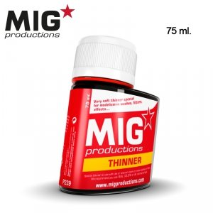 Mig Productions P239 THINNER FOR WASHES (75ML)