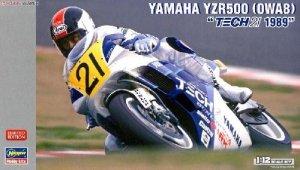 Hasegawa 21708 Yamaha YZR500 (OWA8) Tech 21 1989 Motorcycle 1/12