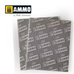Ammo of Mig 8558 Sanding Sponge Sheet 280 gąbka ścierna